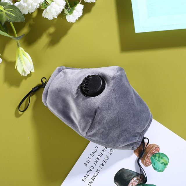 PM2.5 Black mouth Mask anti dust mask Activated carbon filter Windproof Mouth-muffle bacteria proof Flu Face Masks Protect 4
