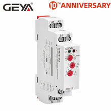 цена на Free Shipping GEYA GRI8-02 Under Current Sensor Relay AC 24V-240V Current Control Relays 0.05A 1A 2A 5A 8A 16A Relay