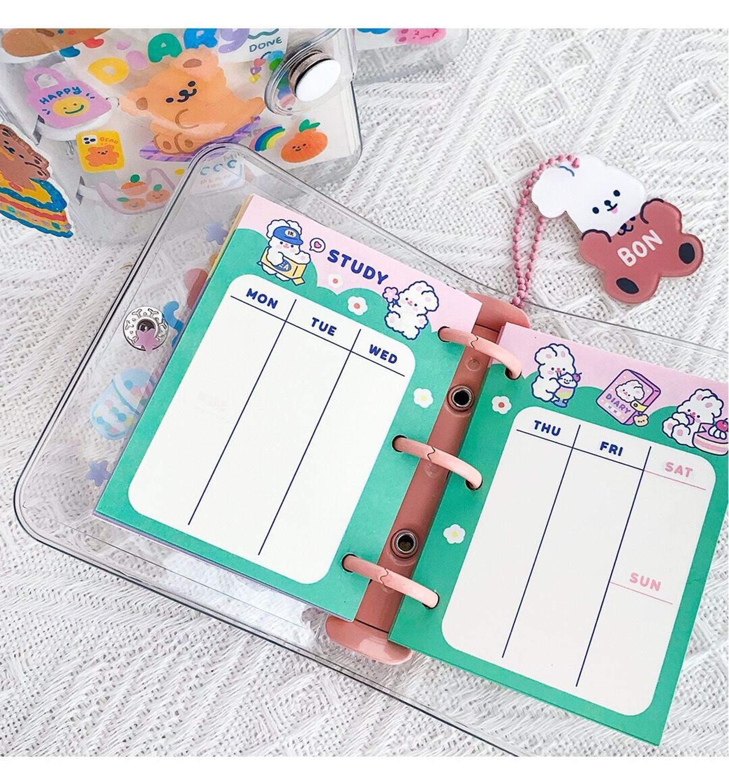 livro diario urso coelho caderno viagem planejador 02