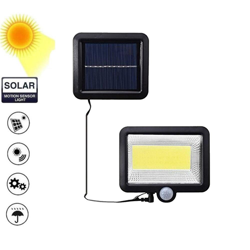 56/30 LED Solar Powered Wall Light PIR Motion Sensor Street Light 3Modes 7 Color Outdoor IP65 Waterproof Lamp For Pathway Garden