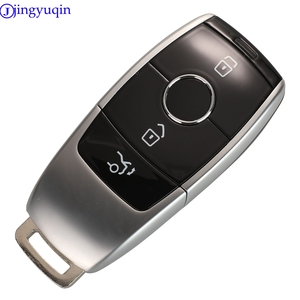 Image 1 - Jingyuqin remoto 3 botões chave do carro escudo para mercedes benz 2017 e classe w213 2018 s chave inteligente