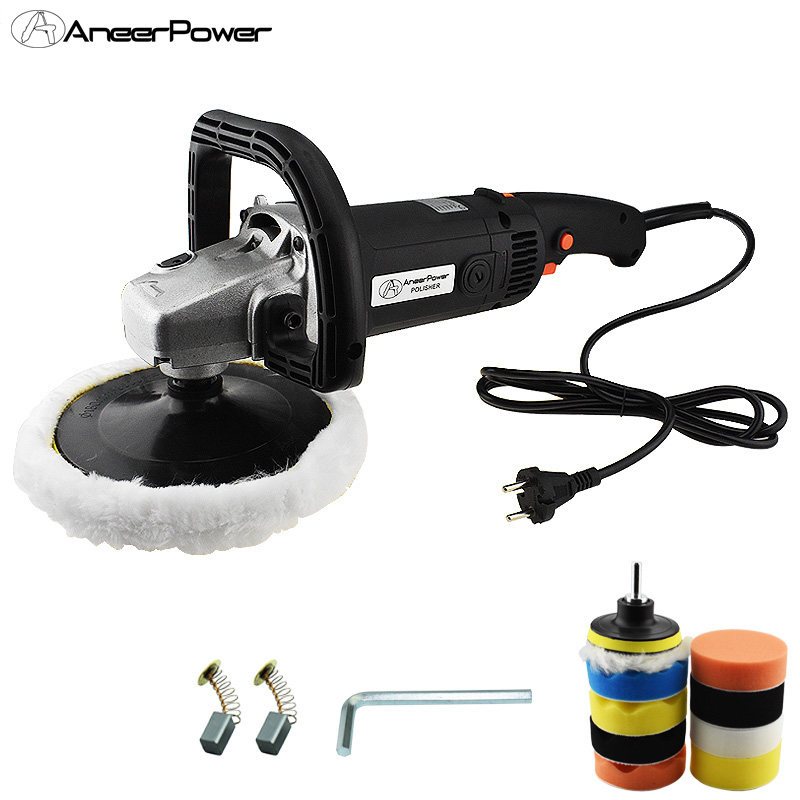 6 Speed Adjustable 1400W Automobile Wax Polishing Machine Sander  Adjustable Speed Adjustable Speed Polishing Machine
