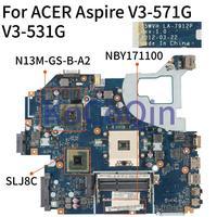 KoCoQin Laptop motherboard For ACER Aspire V3 571G V3 531G Mainboard LA 7912P NBY171100 N13M GS B A2|Laptop Motherboard| |  -