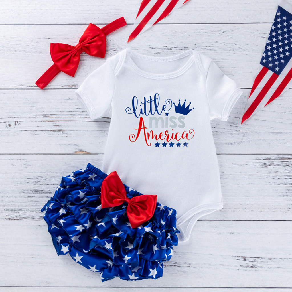 Fourth of July Infant Girl Clothes