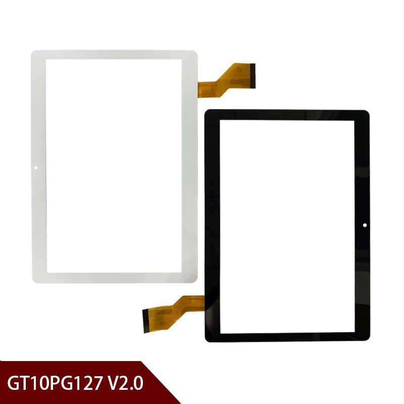 Nouveau A + blanc ou noir 10.1 ''pouces tablette numériseur verre GT10PG127 V2.0 tablette GT10PG127 V3.0 écran tactile taille du panneau: 237*167