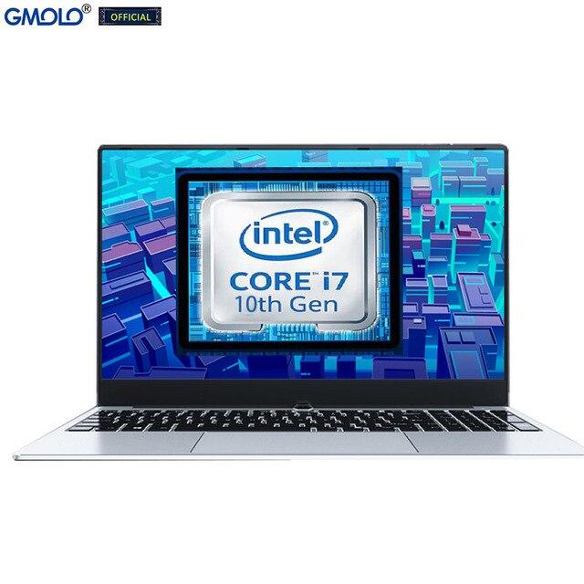 GMOLO 2021 I7 10th Gen Quad Core Processor 8GB/16GB DDR4 RAM 512GB/256GB SSD +1TB HDD 15.6inch Gaming Laptop Notebook 5
