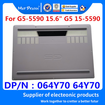MAD DRAGON Brand Laptop Bottom Base Bottom Cover Assembly White shell for for Dell G5-5590 G5 15-5590 064Y70 64Y70 13N4-0HA0901