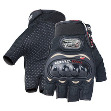 Motorcycle Gloves for Men Woman Breathable Non-slip Riding Racing Driving Outdoor Sport Protective Half Finger Gloves MCS-04C цена