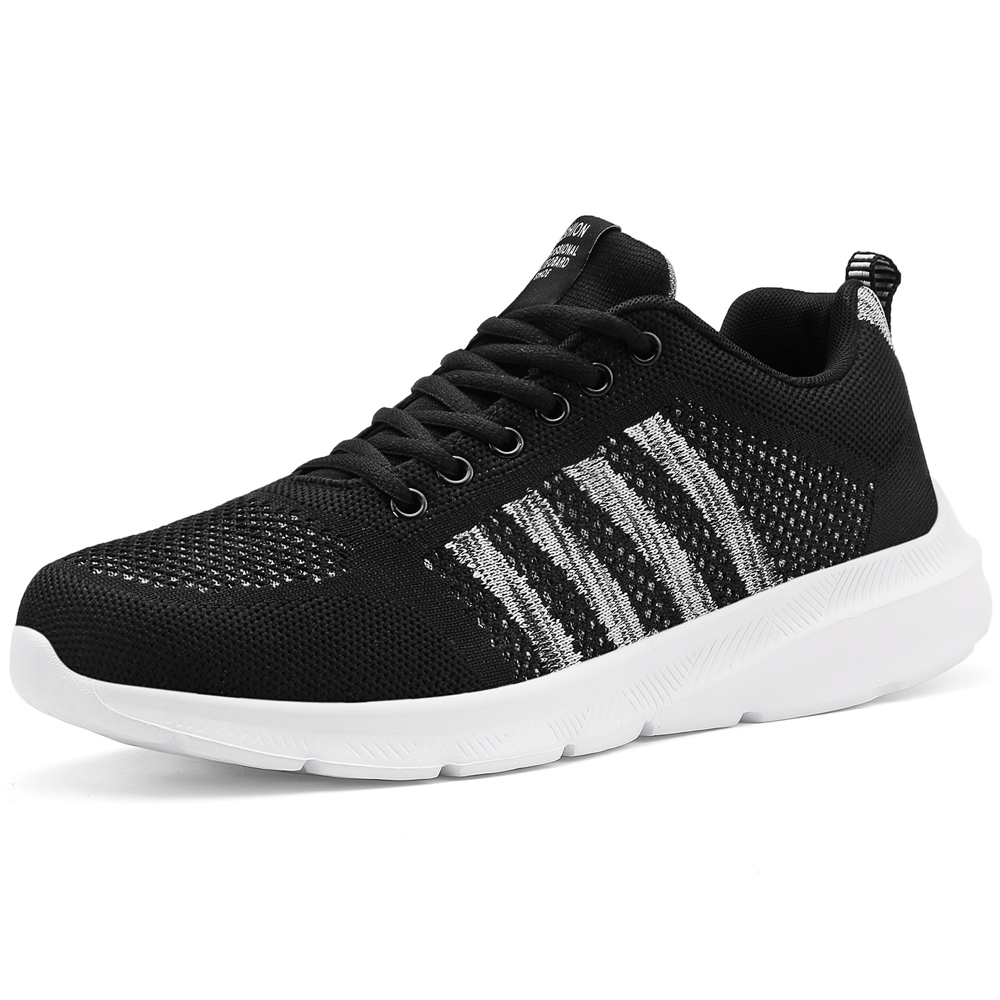 Hot Sale Mesh Men Casual Shoes Breathable Lightweight Comfortable Lace-up Shoes Male Sneakers Walking Outdoor Footwear Size 48
