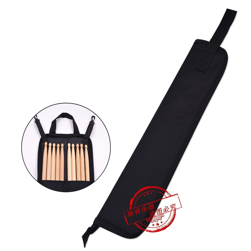 Portable Waterproof Drumsticks Storage Pouch Drum Sticks Bag Percussion Instruments Accessories