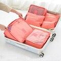 6 шт.  дорожный органайзер  сумка для хранения  набор  портативный органайзер для багажа  одежда  аккуратный Чехол  чемодан  домашний гардероб...