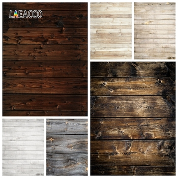 Laeacco Old Wooden Board Photophone Vintage Grunge Planks Photography Backdrops Photo Backgrounds Photozone for Food Portrait