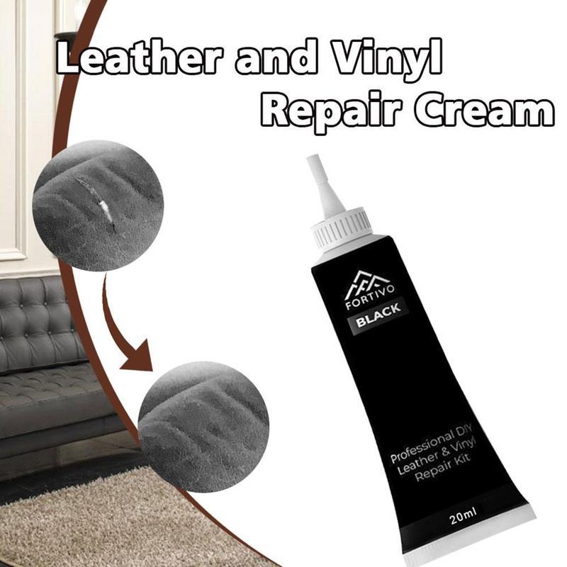 Black/white Liquid Leather Repair Cream Furniture Car Seats Sofa Scratch Cracks Rips Repair Paint Care Tools