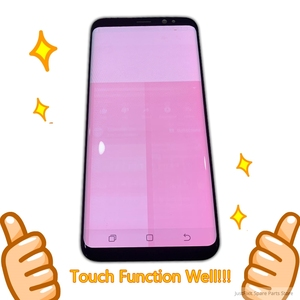 Image 2 - For Samsung Galaxy S8 S8 PLUS G950 g955 g950f g955f Burn in Shadow lcd display with touch screen Digitizer Original Super AMOLED
