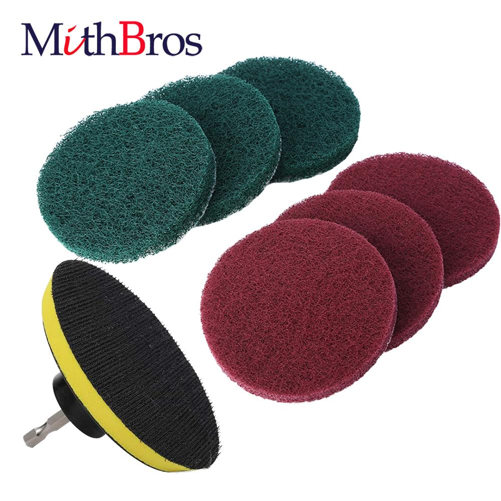 mithbros-drill-brush-attachment-set-scouring-pads-power-scrubber-brush-scrub-pads-cleaning-kit-drill-attachment-kit