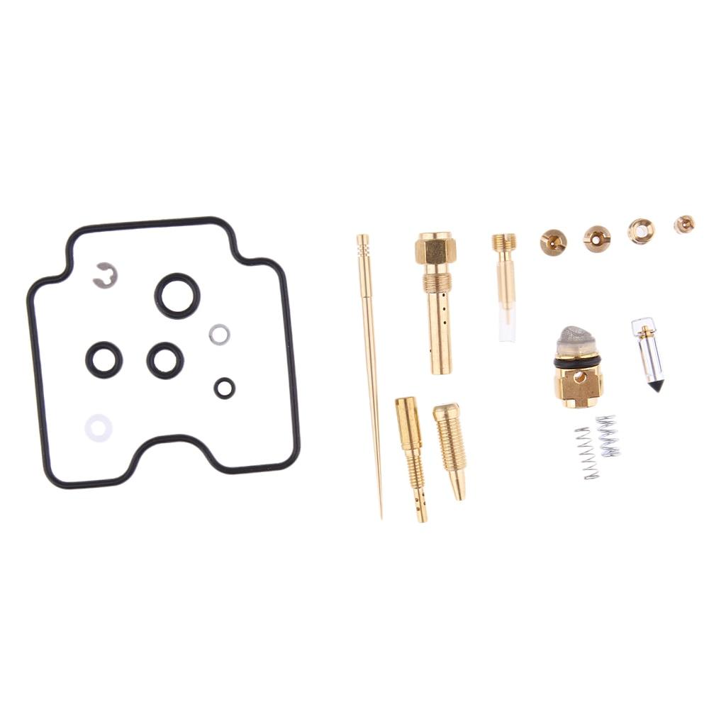 GOOD QUALITY 02-05 FOR Yamaha YFM 660 Grizzly Carburetor Rebuild Kit Carb Repair