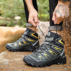 2021 New Outdoor Men's Shoes Men's Hiking Boots Spring Large Size 47.48 Outdoor Shoes Light Mountain Bike Men's Sports Shoes