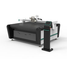 High efficient vinyl sticker plotter cardboard making corrugated carton boxes digital cutting table With CE