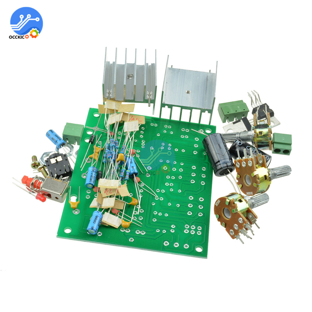 TDA2030A Audio Hifi Module Stereo Amplifier AMP Board AC 12V Dual Channel 15W+15W Diy Kit Electronic PCB Board Module
