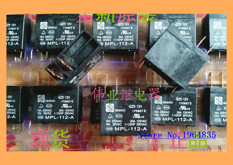 OEG OMIF-S-112LM 12VDC Miniature Power PC Board Relay 20A MPL-112-A 302WP-1AH-C