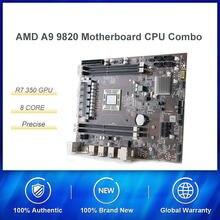 Amd A9-9820 8-core desktop apu r7 350 gpu com placa-mãe combosupport ddr3 2.35ghz em comparação com i5 7400 conjunto de alto desempenho
