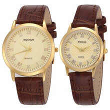Fashion Couple Watch Lovers Watches Leat