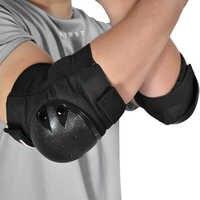 WOSAWE Verdickung motocross ellenbogen pads Fußball Volleyball Extreme Sport Arm pads brace unterstützung motorrad Knie Ellenbogen Protector