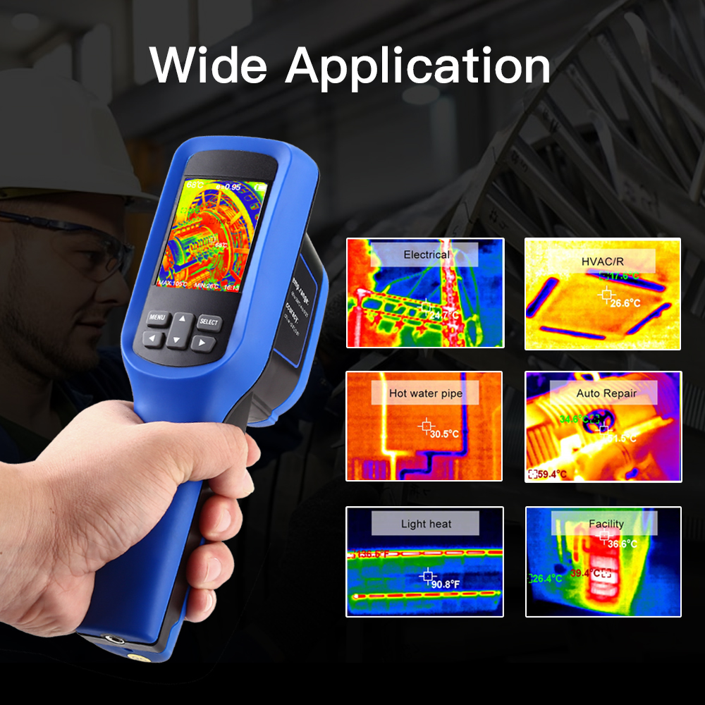 Image 5 - SeeSii 60x60 Handheld Infrared Thermal Imager 8GB Imaging Camera  Temperature  4℉~572℉ thermal Infrared camera thermiqueTemperature  Instruments