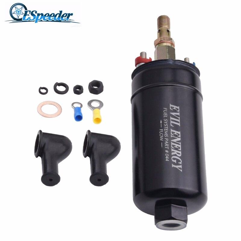 ESPEEDER Universal 12V 300LPH Fuel Injection Pump Electric Fuel Pump Kit Electric Fuel Pump/Gasoline Pump 0580254044 044 Fuel Pumps     - title=