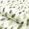 Новинка 2019  детское одеяло из 100% хлопка  муслиновое Пеленальное Одеяло для новорожденных  мягкие одеяла для младенцев  постельные принадлеж...