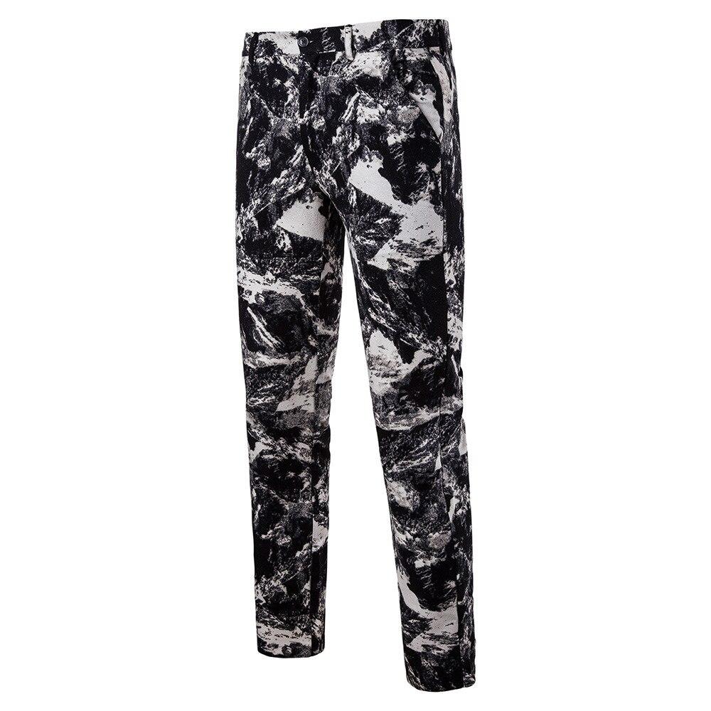 Мужская Мода Национальный Ветер Повседневное модные Для мужчин Блейзер Для мужчин s Брюки - Цвет: 05