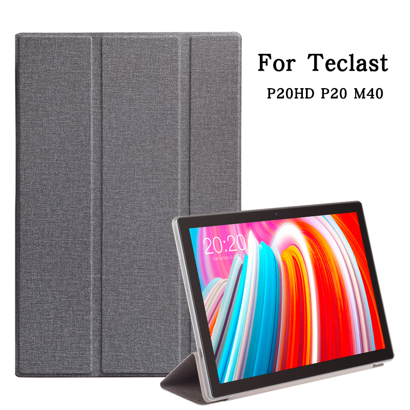 Ultra-thin Case for Teclast M40 10.1 Inch Tablet PC Protective Case Cover for Teclast P20hd P20