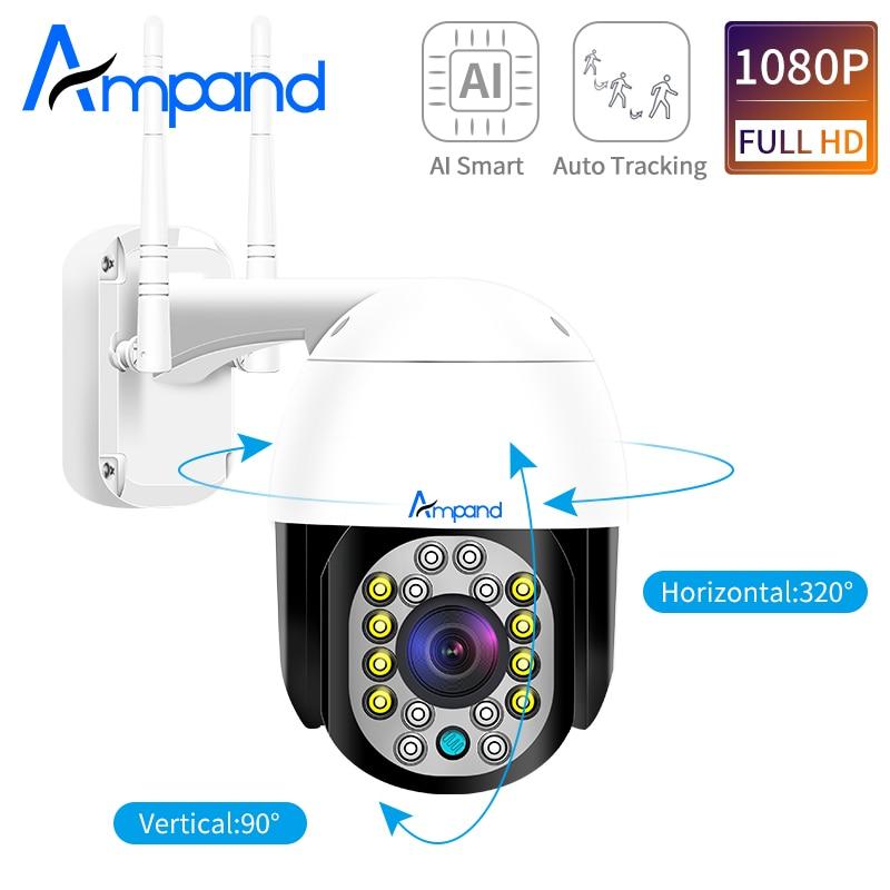 1080P ptz купольная камера 2MP ip камера наружная Водонепроницаемая Onvif cctv двухсторонняя аудио камера для домашнего наблюдения камера P2P Camhi App