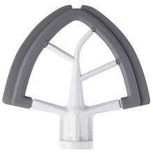 Edge-Beater Mixer Kitchenaid Silicone for Tilt-Head-Stand Quart with Flexible Scraper