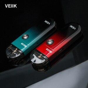 Image 1 - Original GreenSound VEIIK MOOS Pods Starter Kit with 1100mAh 2ml Pod 1.2ohm E Cigarette Vape pen Vaporizer vs Renova Zero Kit
