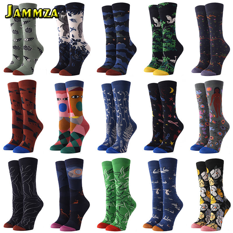 Girls Womens Rainbow Floral Pattern Elephant Over Knee Thigh High Stockings Fashion Socks One Size