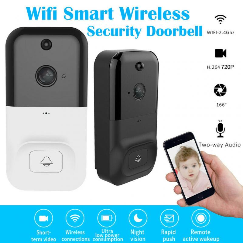 Newly Vedio Smart Doorbell Camera Wifi Wireless Call Intercom Video-eys  Security  Door Bell Ring For Phone Home Security Camera