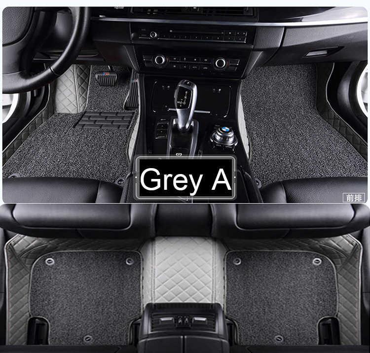 Tapis de sol de voiture pour Toyota Land Cruiser 200 Prado 150 120 Rav4 Corolla Avalon Highlander Camry revêtements de style de voiture