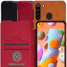 Nillkin Qin Book Flip Leather Case Cover For Samsung Galaxy A21