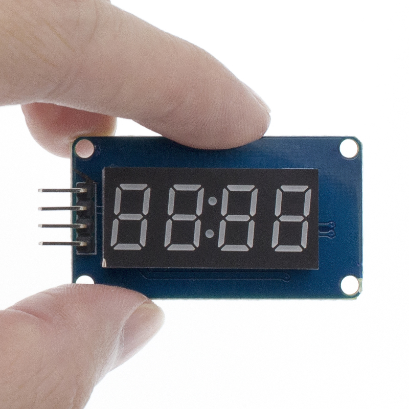 Image 5 - New 100pcs 4 Bits TM1637 Red Digital Tube LED Display Module & Clock LED-in Integrated Circuits from Electronic Components & Supplies
