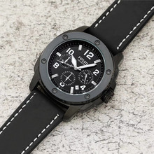 Casual Sport Watches for Men Top Brand Luxury Military Leather Wrist Wa