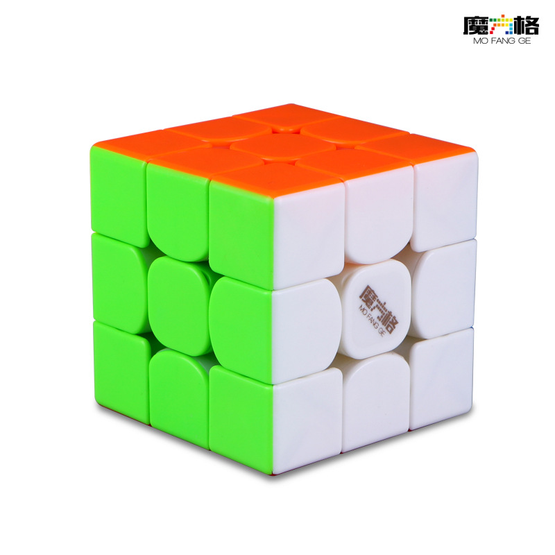 Mofangge Thunderclap V3 3*3 M  Magnetic Cube Black Stickerless White LeiTing Cubo Magico Educational Toy  Dropshipping