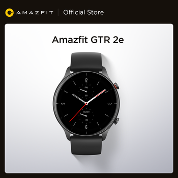 2021 New Amazfit GTR 2e Smartwatch 1.39'' AMOLED Sleep Quality Monitoring Heart Rate 5 ATM Smart Watch for Andriod for IOS