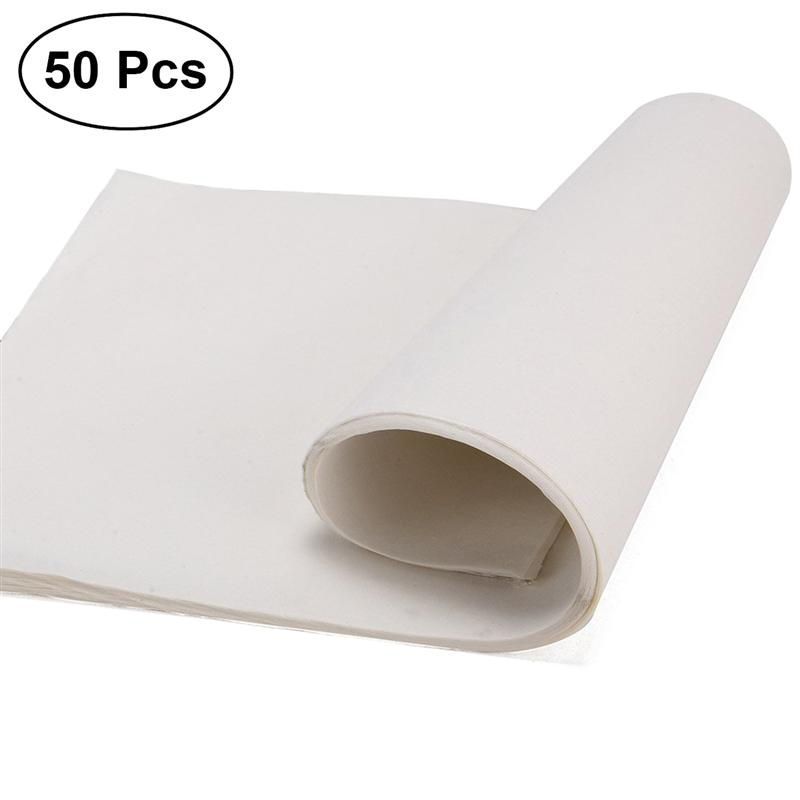 50 Sheets Sumi Paper Chinese Calligraphy Ink Writing Prime Durable Rice Paper Xuan Paper Sumi Paper For School Brush Writing
