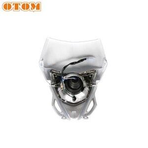 Image 3 - OTOM אופנוע פנס מוטוקרוס פנס קדמי מנורת עבור ימאהה WR450 אנדורו לכלוך אופני תאורה
