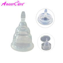 10pcs Menstrual Cup  Medical Grade Silicone Period Cup for collector menstrual Reusable Soft Feminine Hygiene Vaginal Cups women reusable menstrual cup soft medical silicone lady discharge valve menstrual cups leak safety month period cup vagina care
