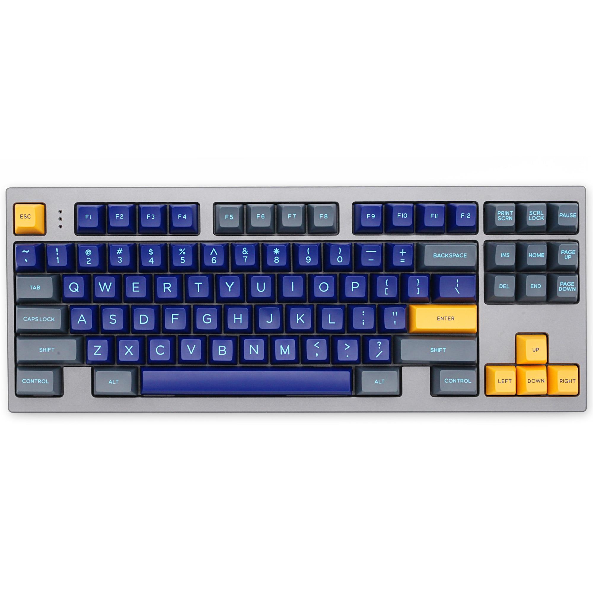 Domikey SA abs doubleshot klavye tuş takımı seti atlantis SA profil mx kök klavye poker 87 104 gh60 xd64 xd68 xd84 xd96 xd75 xd87