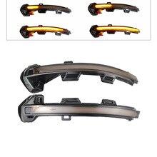 цена на Dynamic LED Turn Signal Light Side Mirror Indicator Sequential Blinker For VW Passat B8 Variant Arteon for Volkswagen 2015 2016