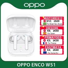 OPPO Enco W51 / W31 TWS Kopfhörer Bluetooth 5,0 Geräuschunterdrückung Drahtlose Eerdphones Für Reno 4 Pro 3 Finden X2 pro ACE 2