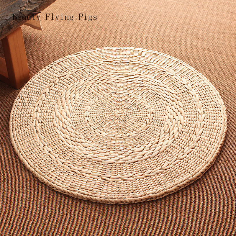Direct Selling New Style Rural Style Straw Tatami Futon Cushion Meditation Worship Buddha Floor Mat Chair Floor Grass Mat